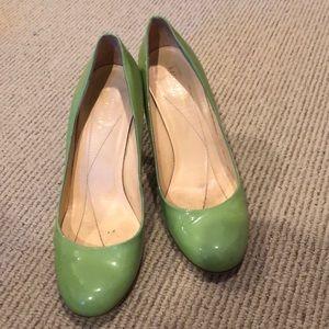 Beautiful mint green heels
